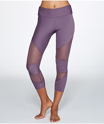 Onzie Mesh Cut Out Capri