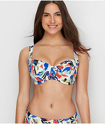 Panache Anya Riva Print Full Cup Bikini Top