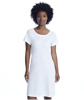 p.jamas White Butterknit Sleep Shirt