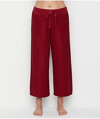 PJ Harlow Jolie Satin Capri Lounge Pants