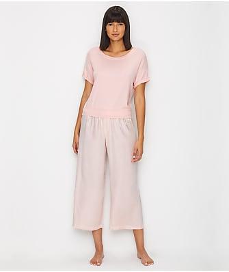 cbb679050b8 PJ Harlow Mac   Jolie Capri Satin Pajama Set