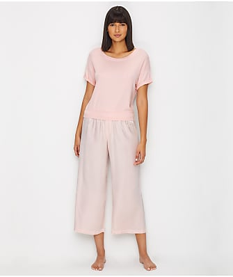 PJ Harlow Mac & Jolie Capri Satin Pajama Set