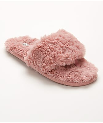 P.J. Salvage Faux Fur Slippers