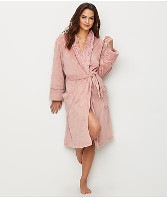 P.J. Salvage Mini Waffle Knit Plush Robe