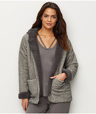 P.J. Salvage Two-Tone Reversible Cozy Cardigan