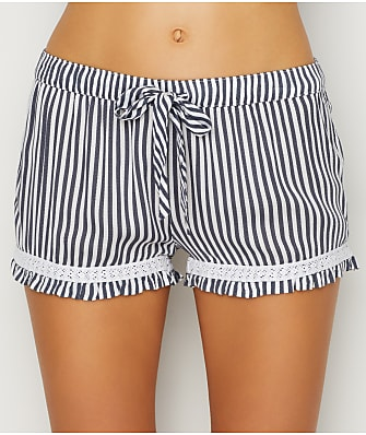 P.J. Salvage Simple Stripes Woven Sleep Shorts