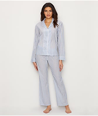P.J. Salvage Denim Blues Woven Pajama Set