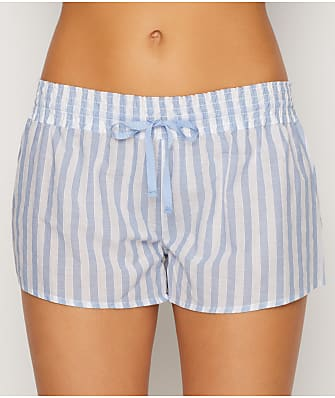 P.J. Salvage Denim Blues Woven Sleep Shorts