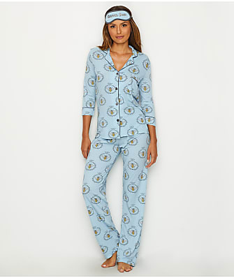 P.J. Salvage Graphic Knit Pajama Set