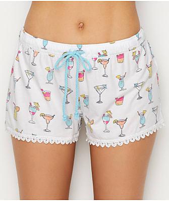 P.J. Salvage Knit Print Pajama Shorts