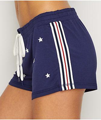 P.J. Salvage Knit Patriotic Sleep Short