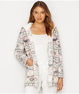 P.J. Salvage Cozy Winter Sherpa Cardigan