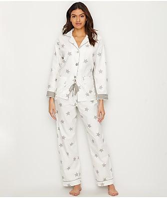 P.J. Salvage Starry Eyed Flannel Pajama Set