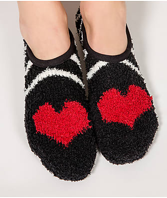 P.J. Salvage Heart Slipper Socks
