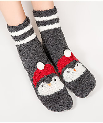 P.J. Salvage Snowman Socks
