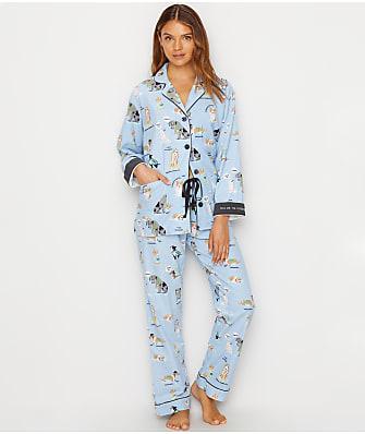 P.J. Salvage Chewish Flannel Pajama Set
