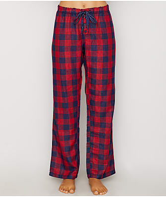 P.J. Salvage Winter Escape Plaid Woven Pajama Pants