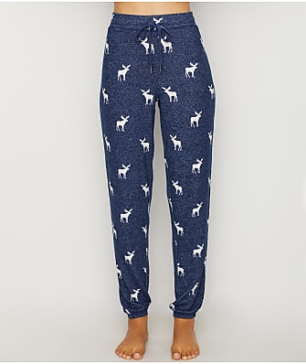 P.J. Salvage Winter Escape Knit Jogger Pajama Pants