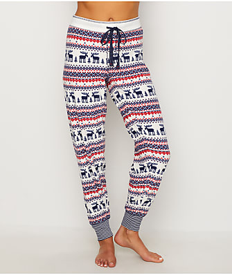 P.J. Salvage Winter Escape Fair Isle Fleece Pajama Pants