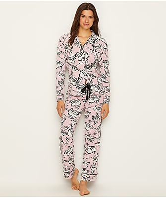 P.J. Salvage Blush Knit Pajama Set