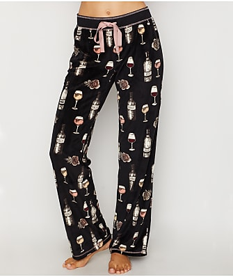 9f78e70866b P.J. Salvage Smell The Rosé Velour Pajama Pants