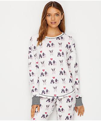 P.J. Salvage I Woof You Knit Pajama Top