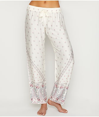 P.J. Salvage Paisley Knit Pajama Pants