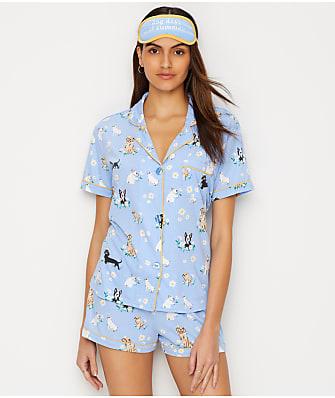 P.J. Salvage Dog Days Knit Pajama Set