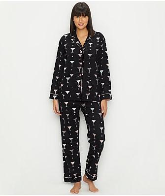 P.J. Salvage Happy Hour Flannel Pajama Set