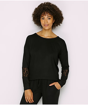 P.J. Salvage Heart To Heart Sweater Knit Lounge Top