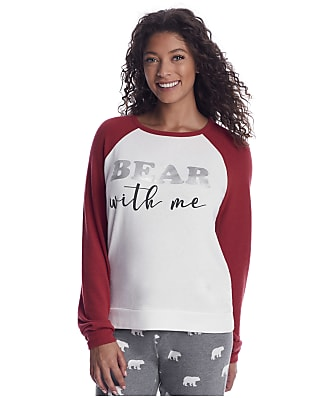 P.J. Salvage Bear With Me Knit Lounge Top