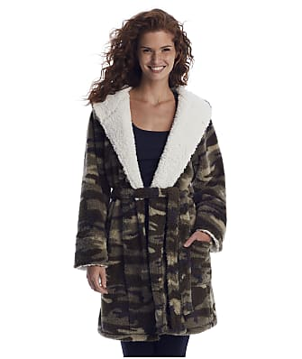 P.J. Salvage Cozy Items Camo Fleece Robe