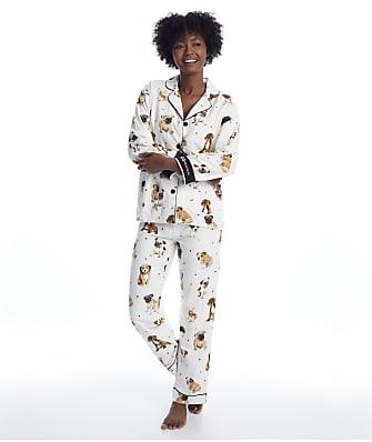 P.J. Salvage Dog Mamma Flannel Pajama Set