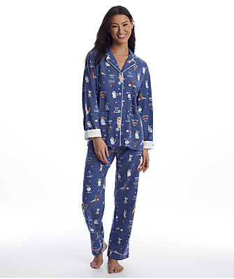 P.J. Salvage You Had Me At Shalom Flannel Pajama Set