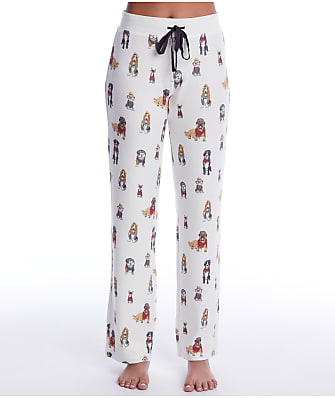 P.J. Salvage Hipster Hounds Knit Pajama Pants