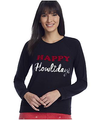 P.J. Salvage Happy Howlidays Knit Lounge Top