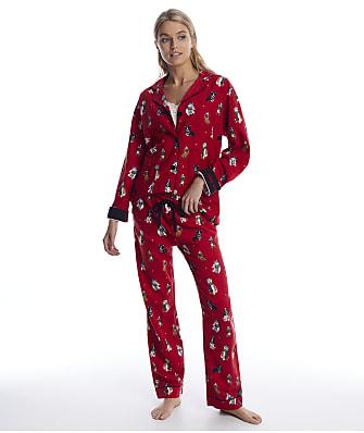P.J. Salvage Happy Howlidays Flannel Pajama Set