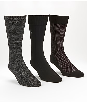 Polo Ralph Lauren Super Soft Birdseye Ribbed Socks 3-Pack
