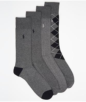 Polo Ralph Lauren Assorted Dress Socks 4-Pack