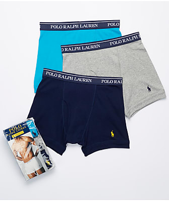 Polo Ralph Lauren Classic Cotton Boxer Brief 3-Pack