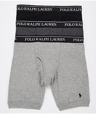 Polo Ralph Lauren Classic Fit Long Leg Boxer Brief 3-Pack