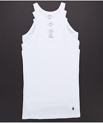 Polo Ralph Lauren Slim Fit Tank 3-Pack