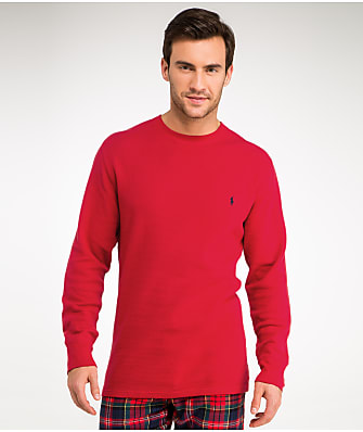 Polo Ralph Lauren Waffle Knit Crew Neck Top