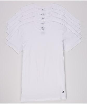 Polo Ralph Lauren Classic Fit Cotton T-Shirt 5-Pack