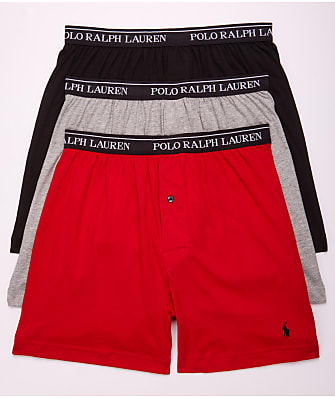 Polo Ralph Lauren Classic Fit  Cotton Boxers 3-Pack