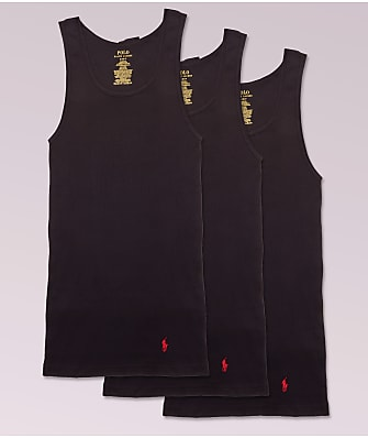 Polo Ralph Lauren Classic Fit Cotton Tanks 3-Pack