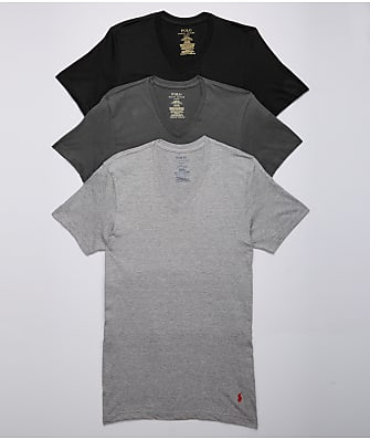 Polo Ralph Lauren Classic Fit Cotton T-Shirts 3-Pack