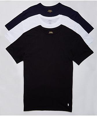 Polo Ralph Lauren Classic Fit Cotton T-Shirt 3-Pack