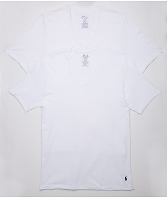 Polo Ralph Lauren Classic Fit Big & Tall V-Neck T-Shirt 2-Pack