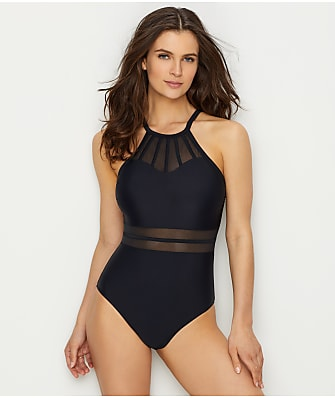 Pour Moi Beach Bound High Neck One-Piece